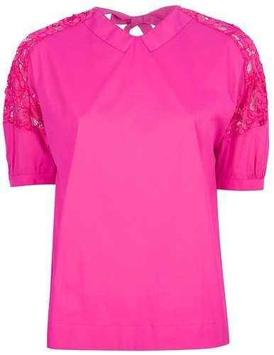 N° 21 lace insert blouse
