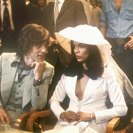 Bianca Jagger Wearing Tommy Nutter in May 1971