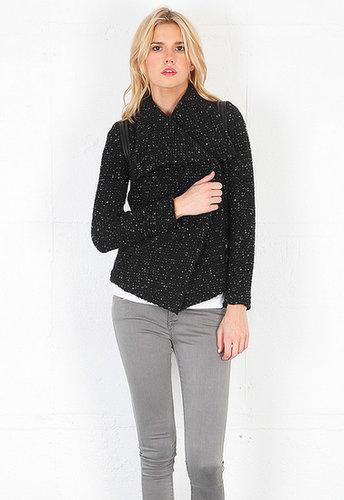 Iro Lierane Sweater Jacket in Black