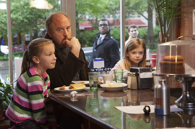 "Louie Eight nominations total, including:  Outstanding comedy series Outstanding lead actor in a comedy series, Louie C.K. Outstanding guest actress in a comedy series, Melissa Leo Outstanding writing for a comedy series, ""Daddy's Girlfriend (Part 1),"" Louis C.K."""