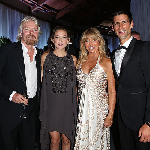 Celebrities at Novak Djokovic Foundation Gala Dinner 2013