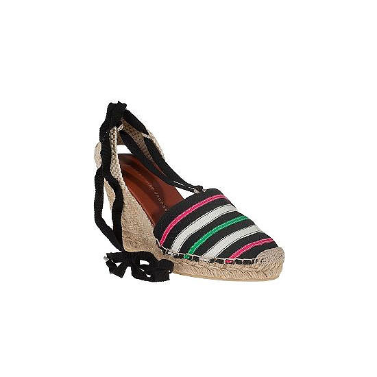 If I can bothered working a heel on holidays, it has to be a wedge. The cobblestone streets of Capri aren't kind of stilettos! Best bit? These gems are cheap-cheap (for Marc by Marc Jacobs)!. — Ali, fashion editor  Wedges, approx $90, Marc by Marc Jacobs at Jildor
