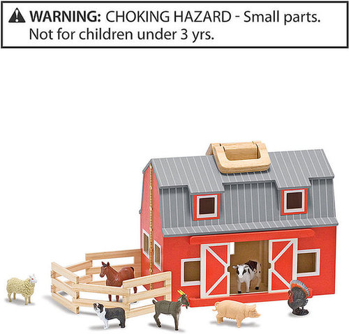 Melissa and Doug Fold & Go Mini Barn