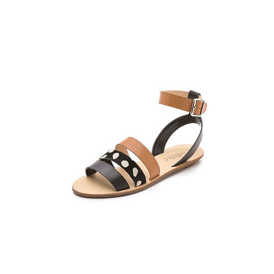 It's been a while since I embarked on an escape-the-cold trip, but I know that cute leather sandals are appropriate for any warm destination! I love the mix of neutrals on this sandal — perfect for day and night.— Jess celebrity & entertainment editor Sandals, approx $254, Loeffler Randall at Shopbop