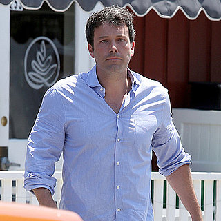 Ben Affleck and David Fincher Having Lunch | Pictures