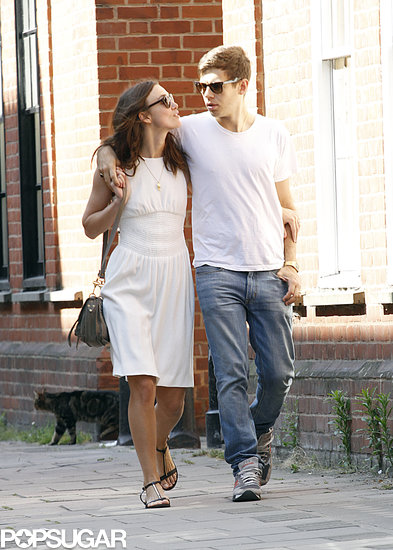 Keira and James Have the Look of Love in London
