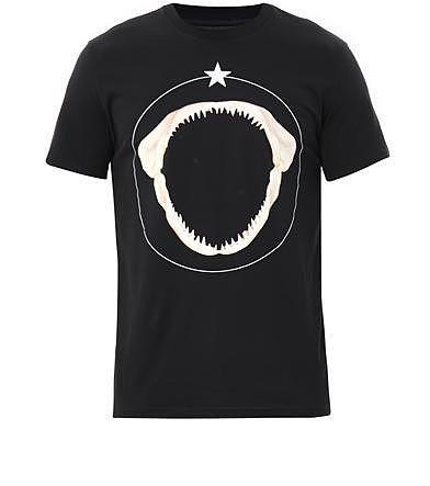Givenchy Shark tooth-print T-shirt