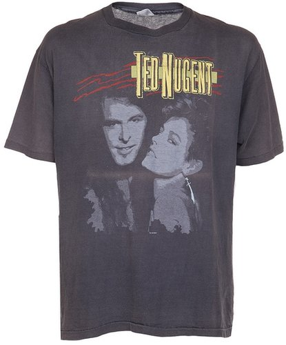 Vintage 'Ted Nugent 1986' tour tee