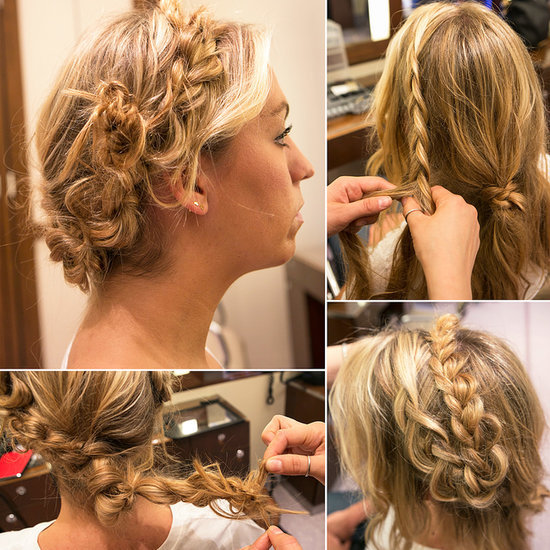 How to Create a Crown of Braids Yourself