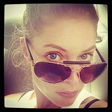 Doutzen Kroes showed off her sleek new Tom Ford shades. Source: Instagram user doutzen
