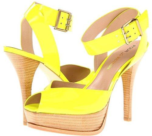 Pour La Victoire - Taryn (Salmon Soft Patent) - Footwear
