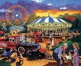 Carnival Train Jigsaw Puzzle