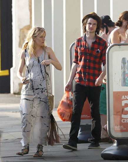 Sienna Miller and Tom Sturridge ran errands together.