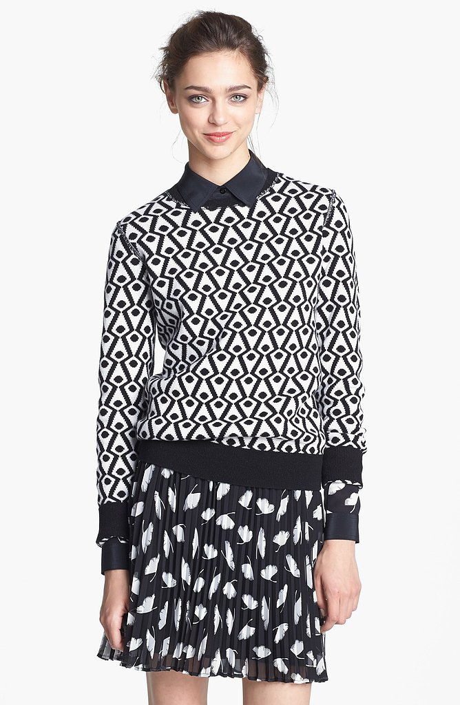 Get graphic in the Zucca Cashmere Sweater ($395)