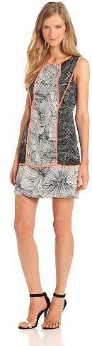 Jessica Simpson Women's Sleeveless Printed Block Dress