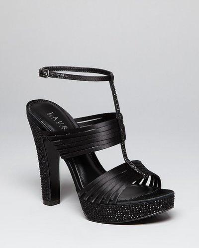 Lauren Ralph Lauren Platform Evening Sandals - Fiona