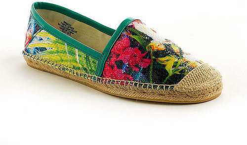 NINE WEST Maxy Sequined Espadrille Flats