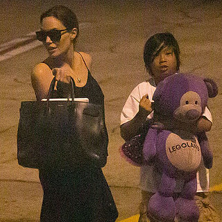 Angelina Jolie Arrives in Hawaii With Maddox and Pax