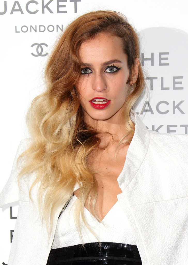 Model Alice Dellal was one of the early converts to the shaved sides trend, plus we love her brunette to blond ombré.