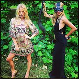 Say what you will, the Delevingne sisters sure know how to have a good time! Source: Instagram user poppydelevingne
