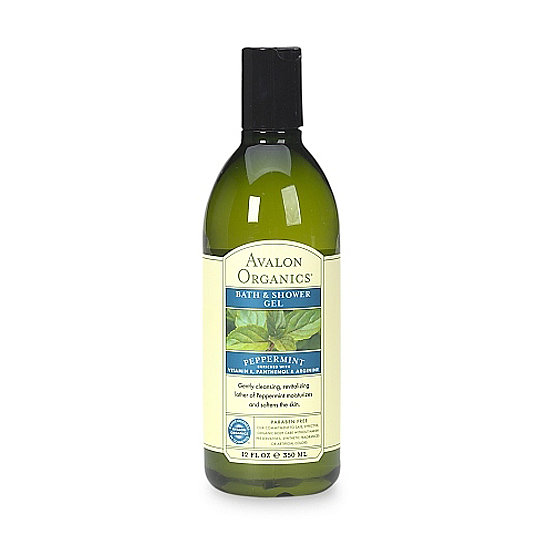And when you're done buffing your legs to perfection, double the cool factor with Avalon Organics Peppermint Bath & Shower Gel ($10), which is made from organic ingredients, so you can feel good about cooling off.