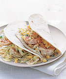 Shrimp and Cabbage Tacos