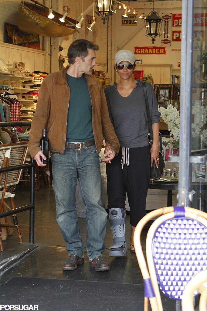 Halle Berry and Olivier Martinez shopped in LA in February 2012.