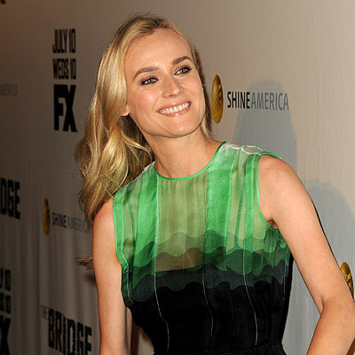 Funny Diane Kruger Interview on Jimmy Kimmel Live