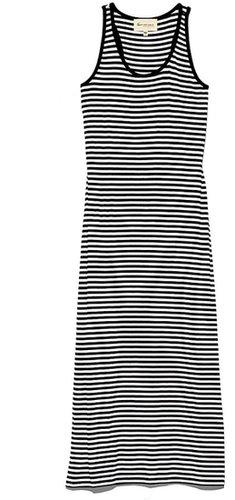 Stripe Tank Maxi Dress