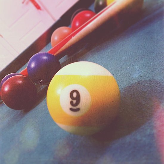 Playing Strip Billiards