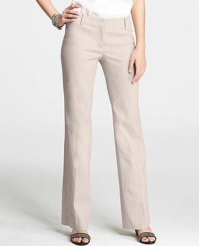 Tall Linen Blend Trousers