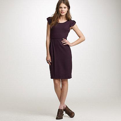 Portfolio dress in wool crepe