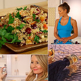 A Delicious Quinoa Salad, Homemade Tassel Earrings, and Homemade Beach Spray: The Best of POPSUGARTV This Week