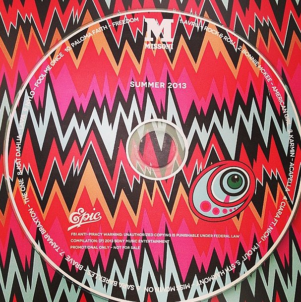 The soundtrack to our Summer, courtesy of M Missoni and L.A. Reid.