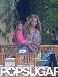 Beyoncé carried Blue Carter.