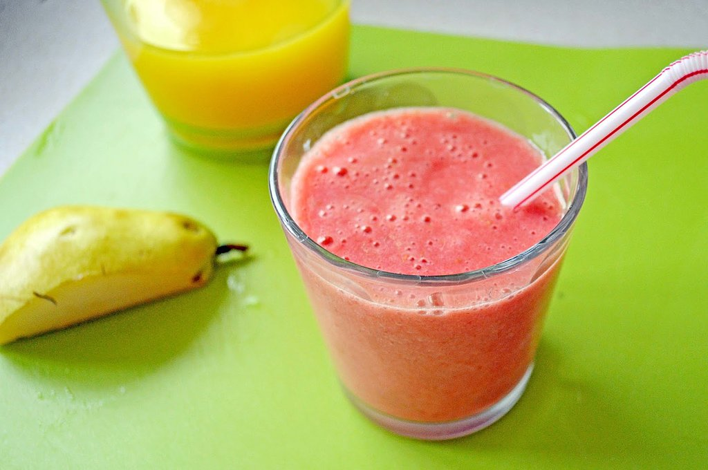 Pink Pear Smoothie