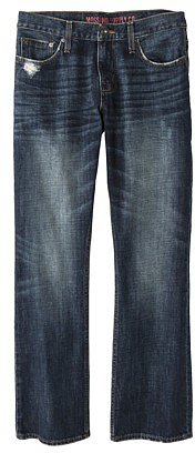Mossimo Supply Co. Men's Boot Leg Jeans - Stonewash