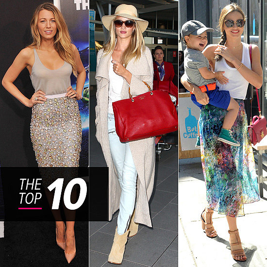 White & Bright: This Week's Top 10 Best Dressed Take a Walk on the Light Side