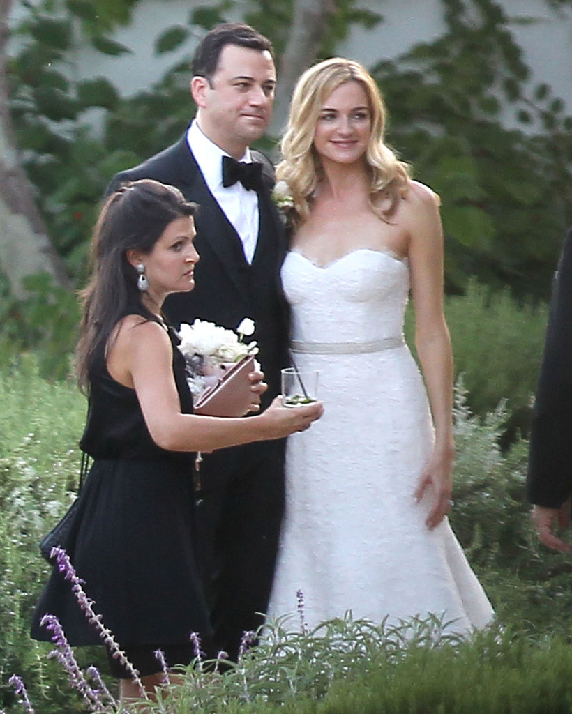Jimmy Kimmel married Molly McNearney in Ojai, CA.