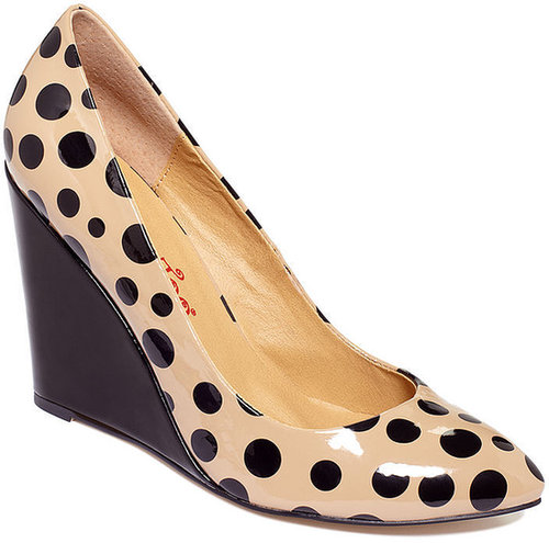 Two Lips Shoes, Too Dotty Wedges