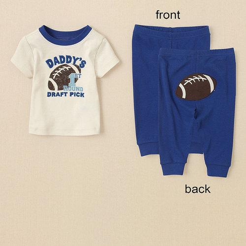 Daddy's pick pj set