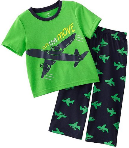 Carter's on the move airplane pajamas - toddler