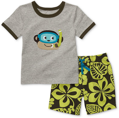 Carter's Baby Set, Baby Boys T-Shirt and Shorts