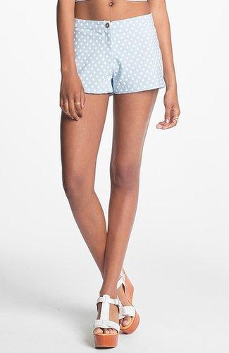 Living Doll Polka Dot Shorts (Juniors)(Online Only)