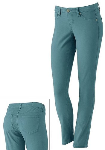 Vanilla star color ankle jeggings - juniors