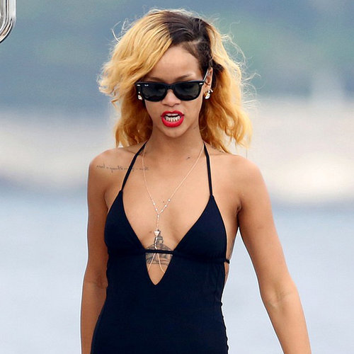 Rihanna and Cara Delevingne in a Bikini | Pictures