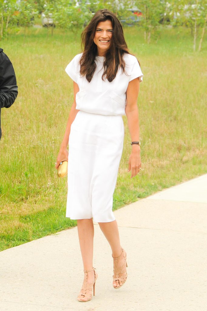 Alessandra Codinha made an entrance at the Parrish Art Museum's Midsummer Party.