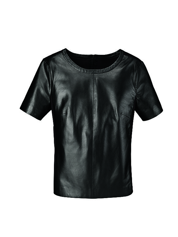 In our book, scoring real leather for anything less than a hundred bucks is impressive. Halogen's black top ($99, originally $168) is sure to be chicer than any tee you own.