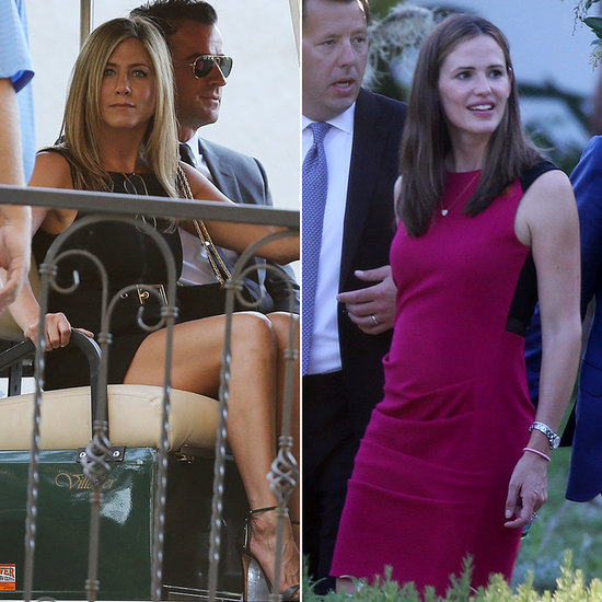 The Jennifers (Aniston and Garner!) as Wedding Guests — Plus, 13 More Stylish Celeb Attendees