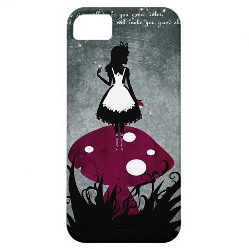 It doesn't get more classic than a fantastical Alice in Wonderland iPhone 5 cover ($43).